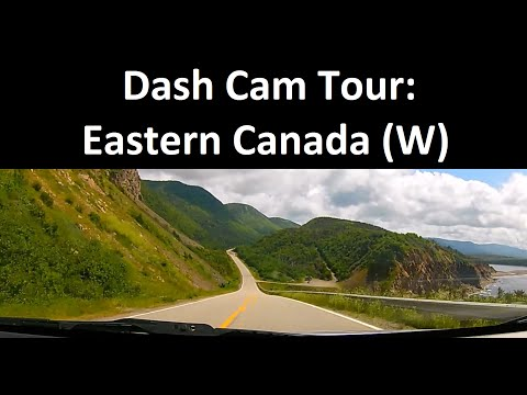 Dash Cam Tour: Trans-Canada Hwy. (Sydney to Kingston)