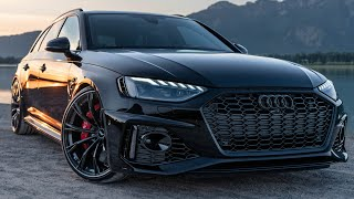 NEW! 530HP 2021 AUDI RS4 AVANT ABT - MURDERED OUT BEAST - BETTER THAN AN RS6?