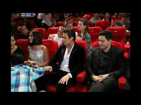 Liza Soberano Bumeso Kay Alden Richards, Enrique Gil Pinag-gitnaan sa Upuan Nina Liza at Alden!