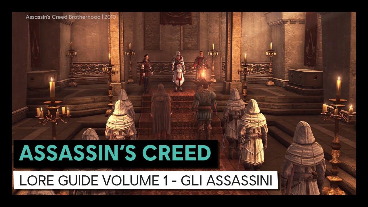 Assassin's Creed Lore Guide Volume 1 - Gli Assassini