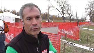 Interview Bruce Fina - about  World Championships Cyclo Cross Louisville 2013