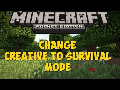 how to change creative to survival on minecraft pc
