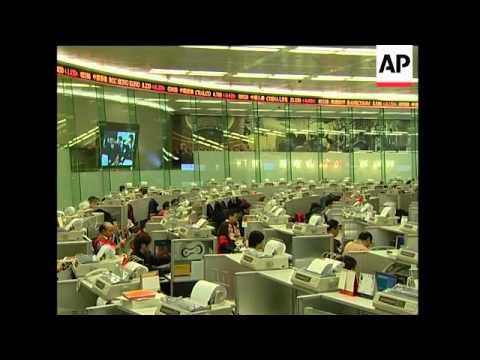 Hong Kong stock market opens