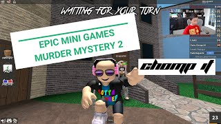 EPIC Minigames and Murder Mystery 2 on Roblox