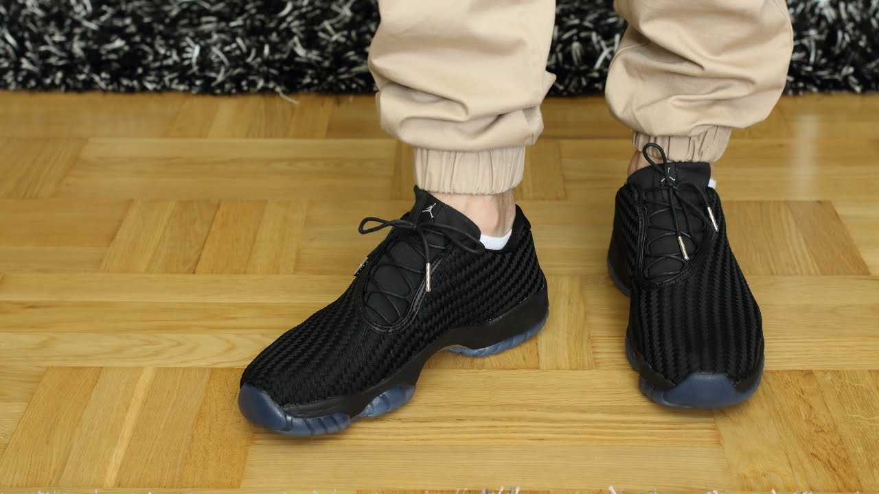 Air jordan FUTURE LOW. Black   Gamma ON FEET - YouTube 6bc731f7a