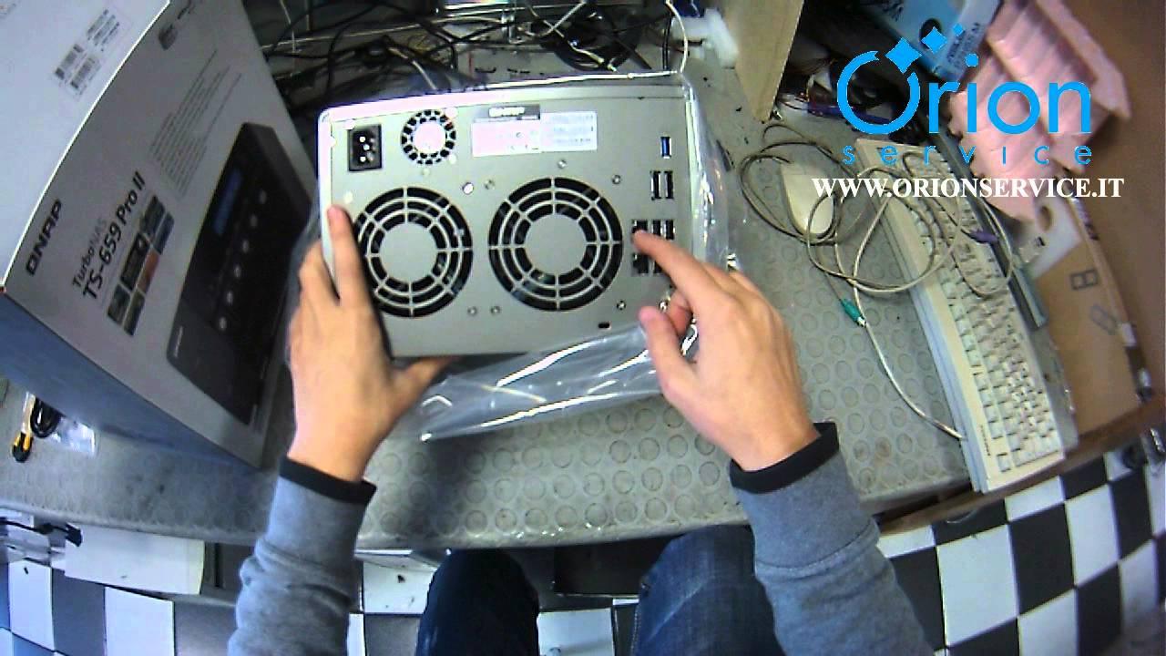 QNAP TS-659ProII Turbo NAS 64 Bit