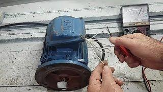 Como ligar Motor trifásico sem numeração nos cabos thumbnail