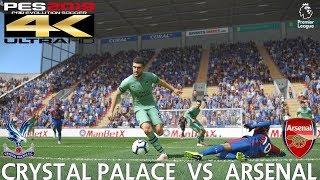 PES 2019 (PC) Crystal Palace vs Arsenal | PREMIER LEAGUE PREDICTION | 28/10/2018 | 4K 60FPS