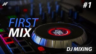 DJ Mixing :: My First Set! (Numark Mixtrack Platinum)