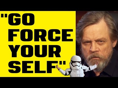 Star Wars - Mark Hamill Goes FULL Jake Skywalker on Twitter