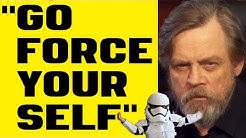 Star Wars - Mark Hamill Goes FULL Jake Skywalker on Twitter