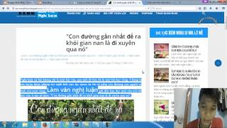 Hướng dẫn tạo Sitemap, Google analytics, Khai báo và Seo cho blogspot
