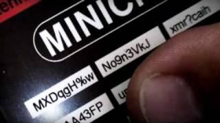 Minichamps Licenceplate