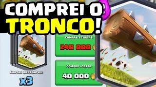 COMPREI E TESTEI O TRONCO! - Clash Royale