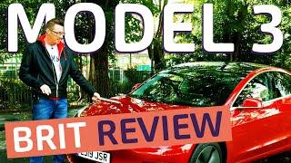 Myth Busting the Tesla Model 3 | UK Review | Tackling Fake News