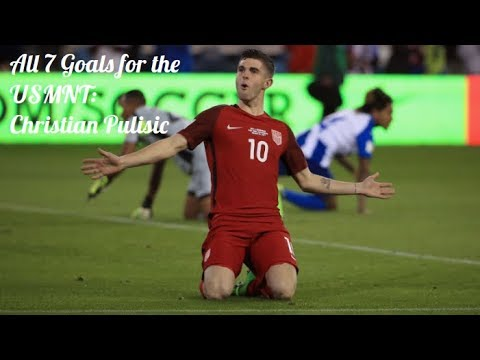 All 7 Goals for the USMNT ● Christian Pulisic ● 20162017