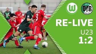 RE-LIVE   VfL Wolfsburg U23 - VfB Lübeck   Regionalliga Nord