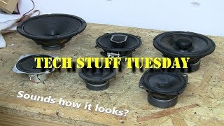 Do speakers sound like they look? - Tech Stuff Tuesday
