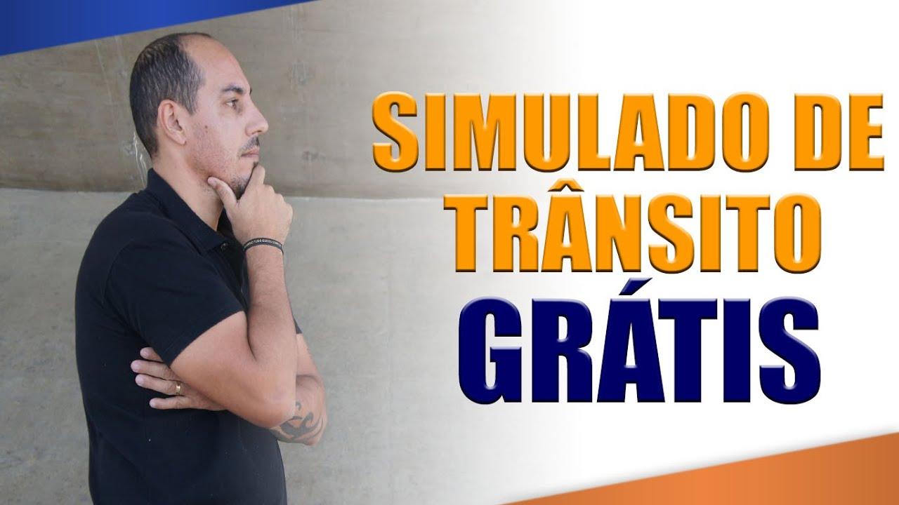 SIMULADO GRÁTIS CÓDIGO DE TRÂNSITO