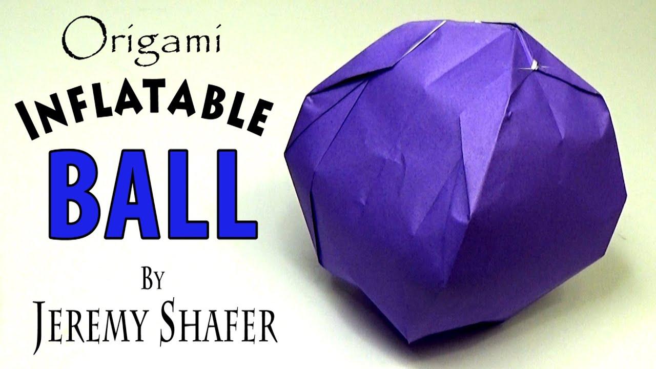 Origami Ball - YouTube - photo#23