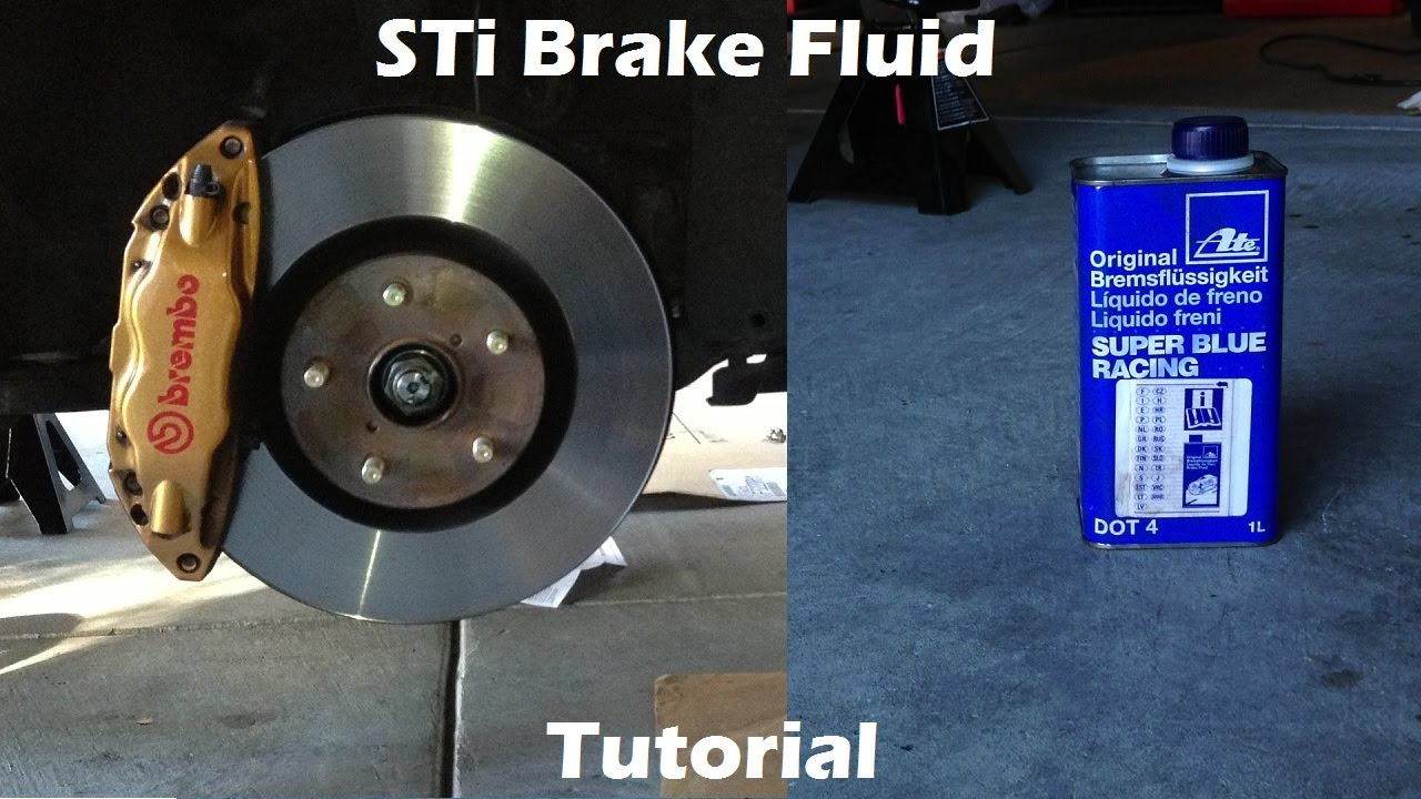 How To Change Brake Fluid >> Tutorial Learn How To Change Brake Fluid On 2006 Subaru Wrx Sti