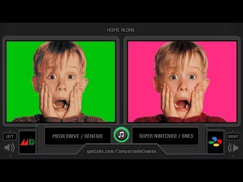 Home Alone (Sega Genesis vs SNES) Side by Side Comparison thumbnail