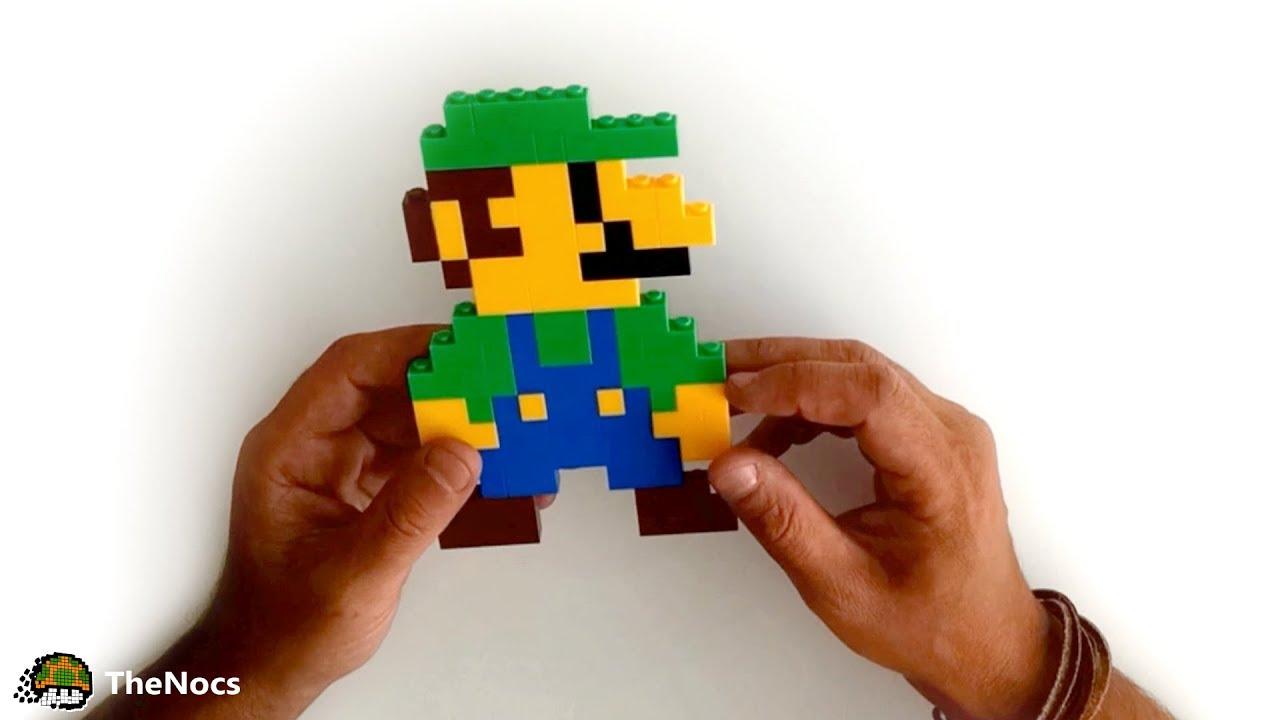 Como Crear a Luigi Con Bloques de Lego   TheNocs ...