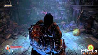 Lords Of The Fallen - Secret Area #1 & How To Break Cracked Walls
