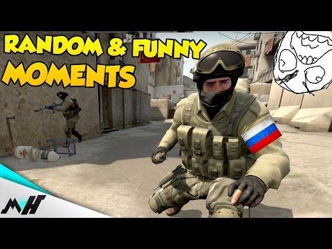 CS:GO Funny & Random Moments - RUSSIAN KID RAGE