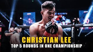 ONE Highlights   Christian Lee's Top 5 Rounds