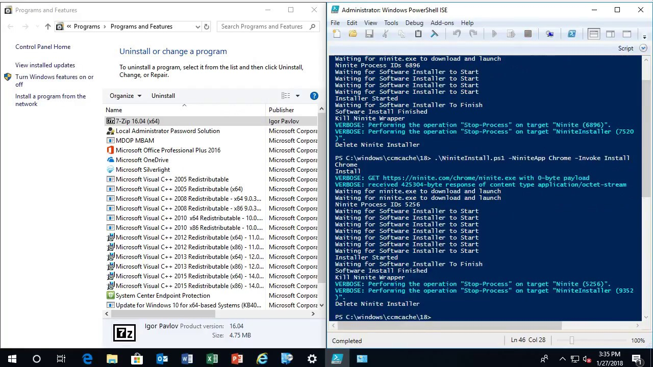 ConfigMgr Lab – Adding Ninite Apps – GARYTOWN ConfigMgr Blog