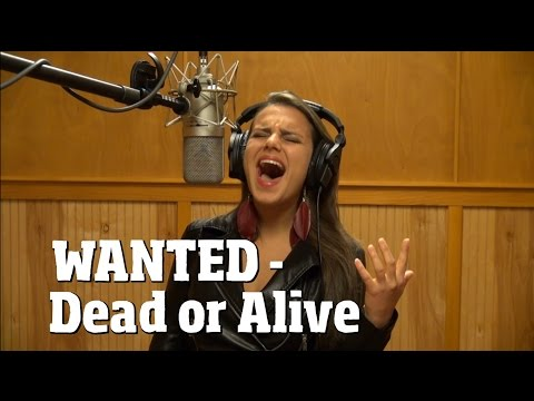 Wanted - Dead or Alive - Bon Jovi cover - Xiomara Crystal - Ken Tamplin Vocal Academy