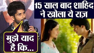 Shahid Kapoor's throwback interview: He shares THIS about Jab We Met | FilmiBeat