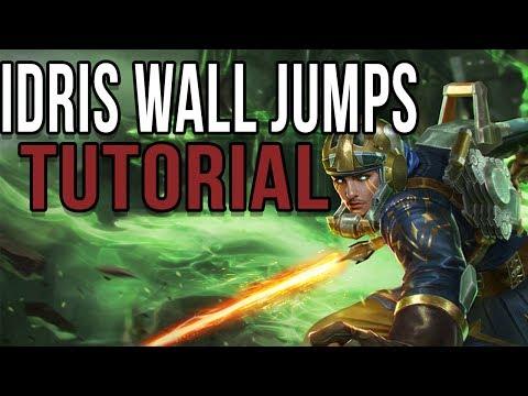 IDRIS WALL JUMP TUTORIAL   VAINGLORY