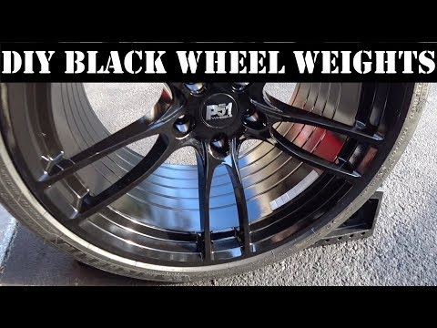 Painting Your Custom Wheel Weights | Auto Fanatic