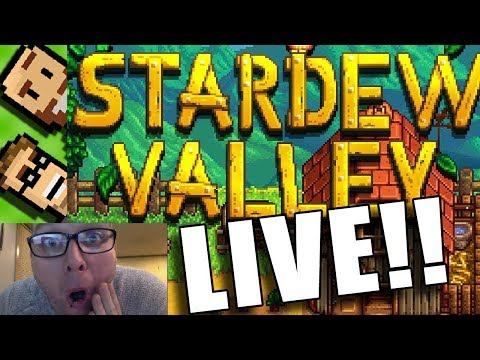Stardew Valley LIVE! In The Basement - Let's chill a bit, and farm, and generally stardew it up.