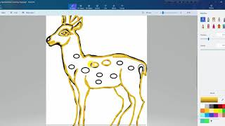 how to drawing baby deer step by step like american expart artist