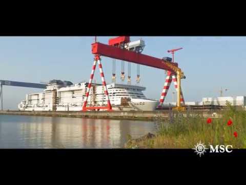 MSC Cruises & STX France: eine innovative Partnerschaft