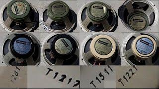 Original Greenbacks Vs Creambacks Vs Blackbacks - T1281 Vs T1511 Vs T1217 Vs T1221