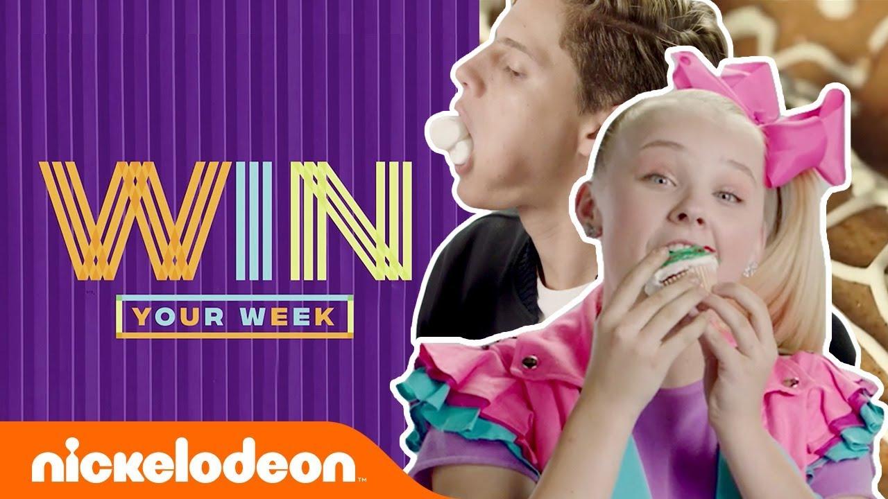 Epic Ninjabread Man Challenge, Exclusive Bloopers & More!   #WinYourWeek