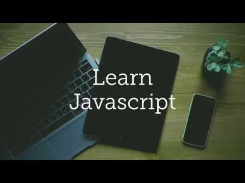Learn Javascript,  Crash Course | All About Javascript ( All in One )