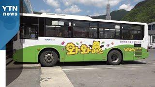 """""""무료 시내버스는 복지""""...강원 정선 완전공영제 도입…"""