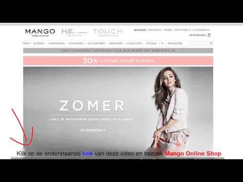 Mango Online Shop Zomercollectie 2013