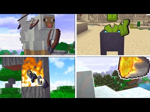 7 Minecraft ANIMATIONS that NEED to be ADDED!! | Minecraft Mods