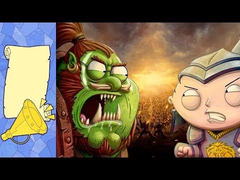 Гриффины в Азероте. Варкрафт пройден на 100%. Золотые глаза Эльфов Крови | Новости Warcraft
