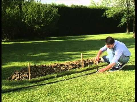Irrigazione interrata rainjet claber youtube for Claber irrigazione interrata