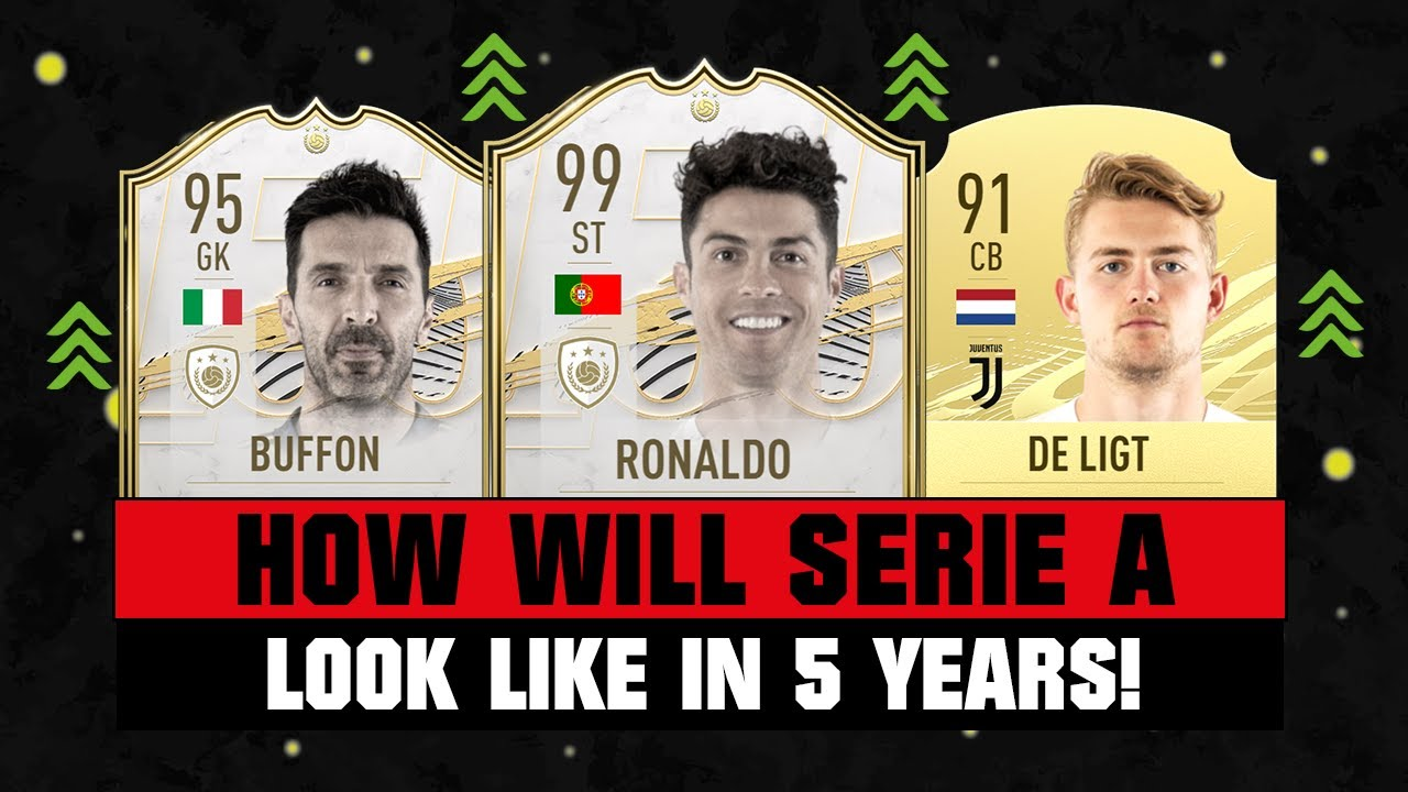 THIS IS HOW SERIE A WILL LOOK LIKE IN 5 YEARS! 😱🔥| FT. RONALDO, BUFFON, DE LIGT... etc