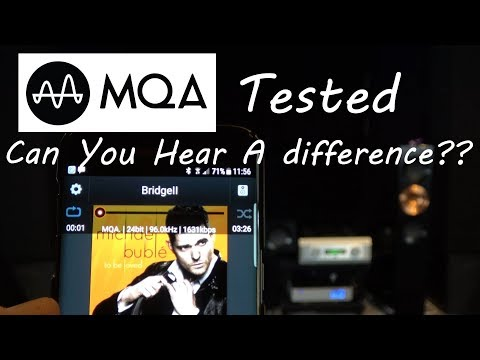 MQA Tidal Masters Tested Can you Hear the Difference?? PS