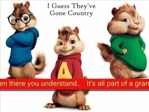 Alvin & The Chipmunks - Rascal Flatts -Bless The Broken Road