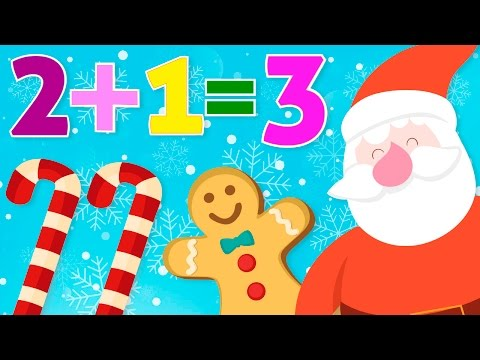 Aprende a sumar en Navidad – Matemáticas para niños – Sumas fáciles thumbnail
